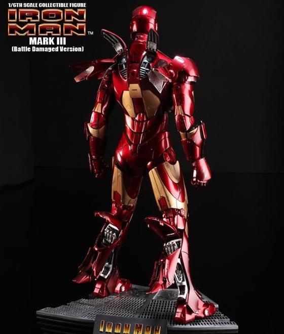 Iron Man Mark III Battle Damaged