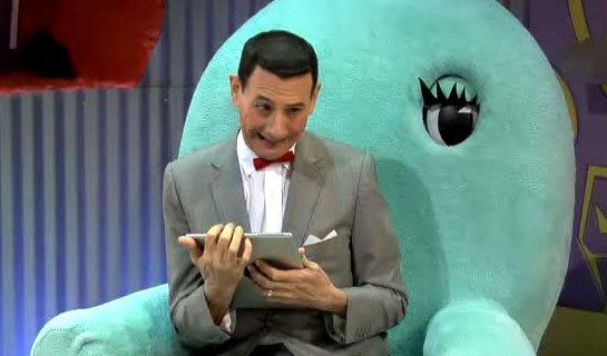pee wee gets an iPad Video: Pee-wee Gets an iPad