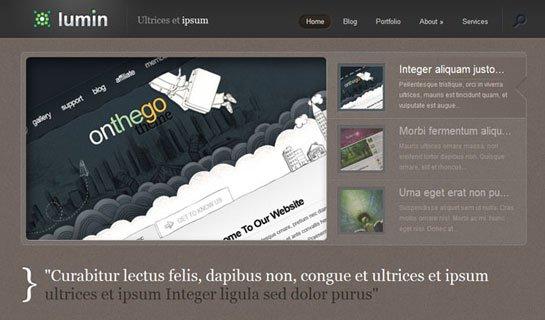 Lumin WordPress Theme