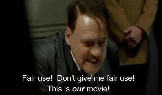 Hitler DMCA Takedown