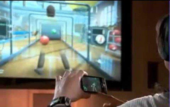 Control Xbox Kinect Using Phone