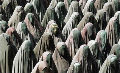 burka - women in middle east