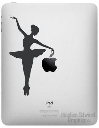 iPad Decal -  Ballerina