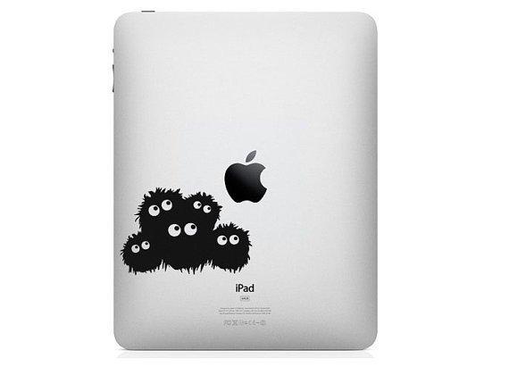 iPad Decal - dust bugs