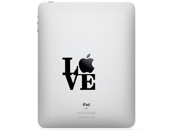 iPad Decal - I LOVE NY