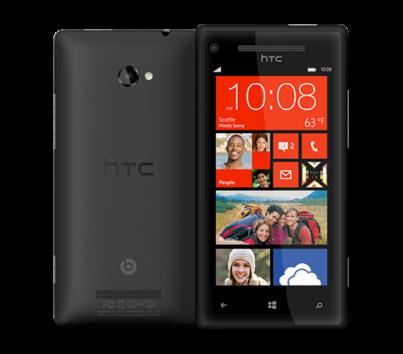 HTC 8X black