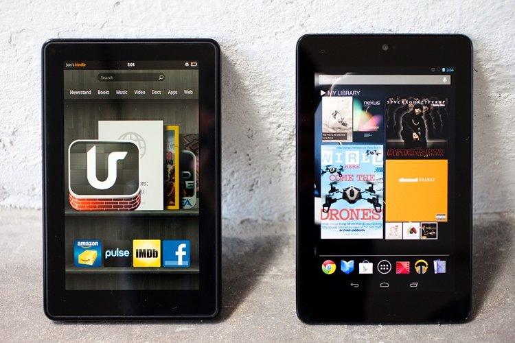 Kindle VS Nexus