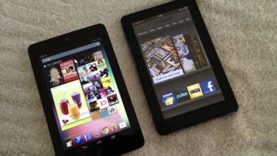 Asus Google Nexus 7 vs Kindle Fire
