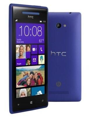 HTC 8X blue
