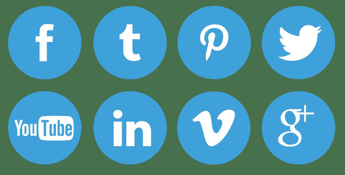 Social Media Big Icons