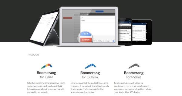 Boomerang: Follow up
