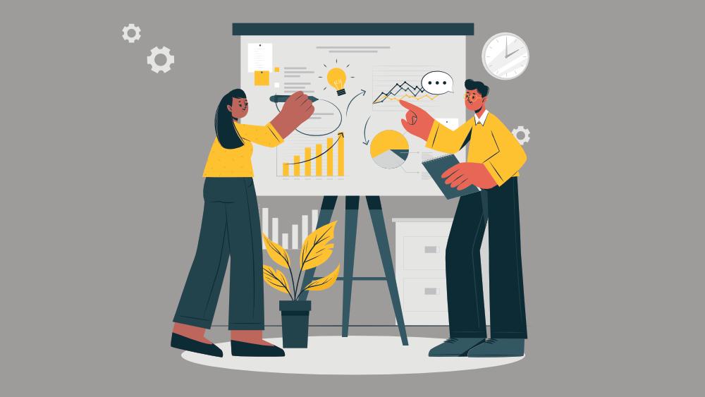 Illustration - Marketing Data in B2B Companies