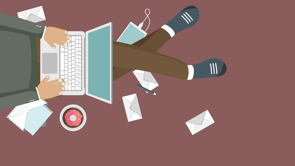 Email Marketing - Vector PNG Illustration