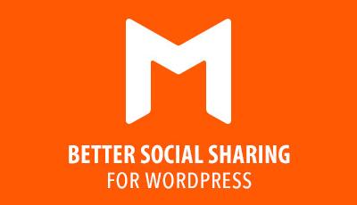 Monarch Social Sharing Plugin for WordPress Mad Tomatoes